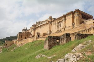 Amber Fort, sightseeing in Jaipur, India