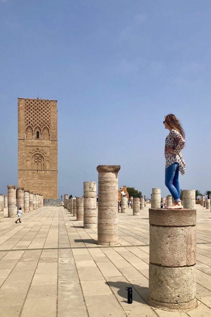 Hassan Tower, Places to Visit in Rabat