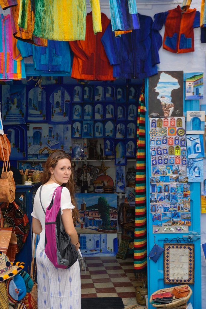Shopping in Chefchaouen, Accessing Money Abroad