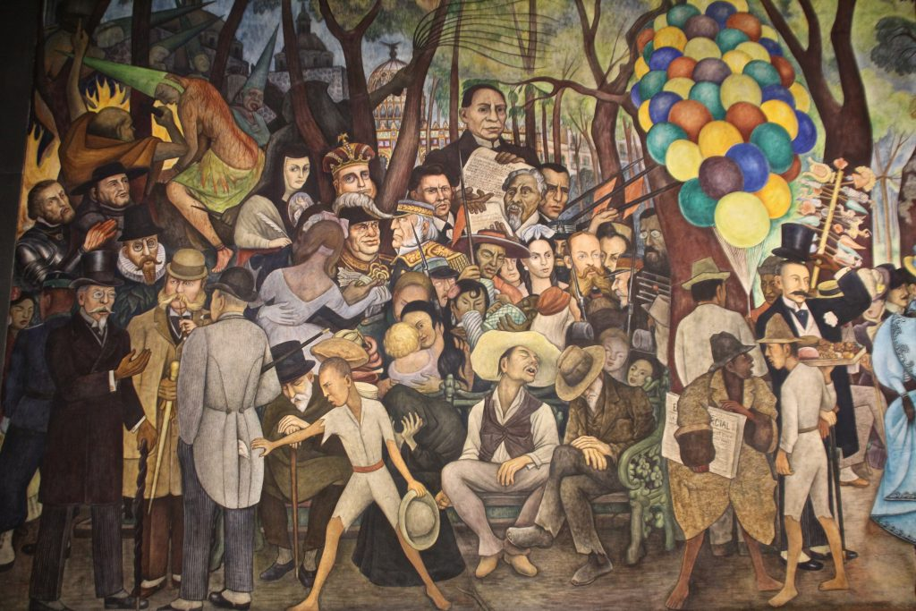 Diego Rivera, Long Layover in Mexico City